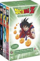 Dragon Ball Z - Movies 1-3 (3 Disc Box Set) on DVD