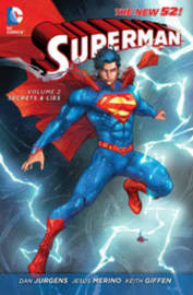 Superman Volume 2: Secrets & Lies HC (The New 52) by Dan Jurgens