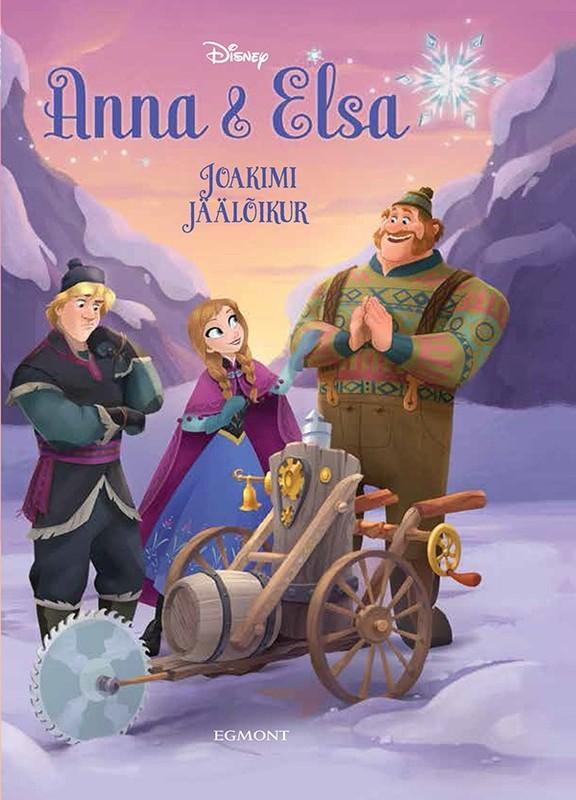Anna & Elsa #4: The Great Ice Engine (Disney Frozen) by Erica David