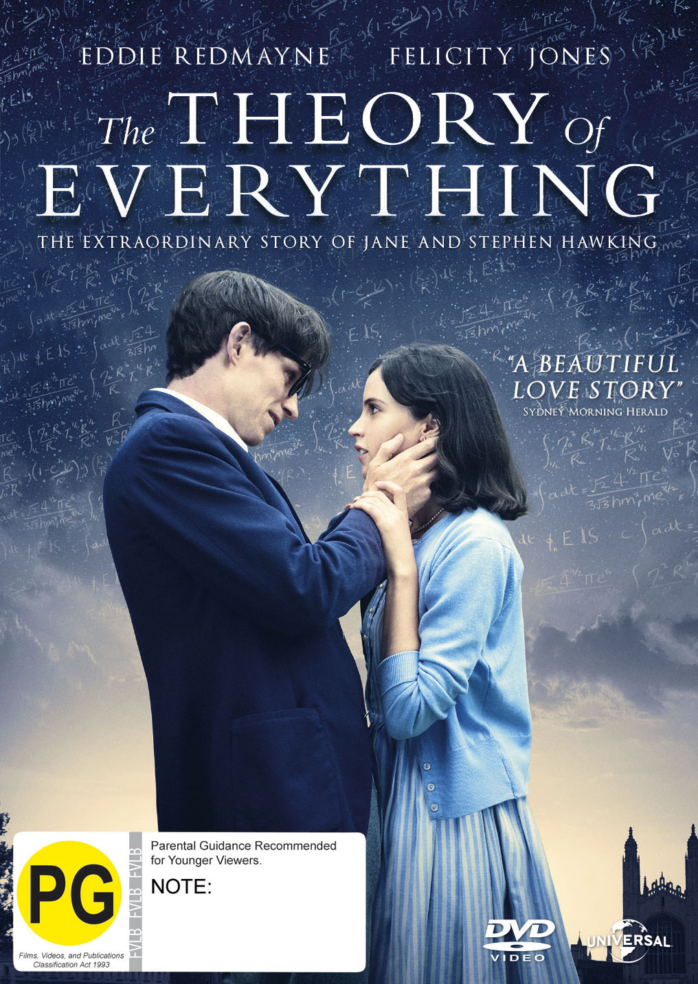 The Theory Of Everything on DVD image
