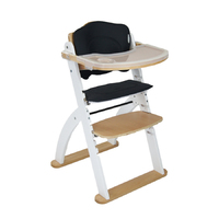 Kaylula Ava High Chair - Beech/White