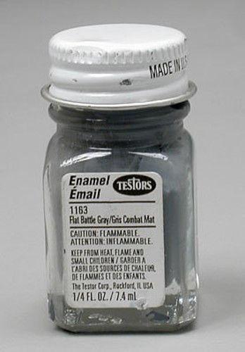 Testors: Enamel Paint - Flat Gray