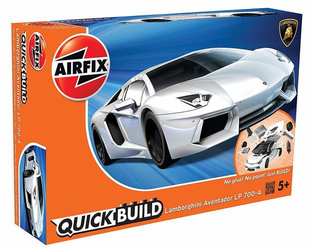 Airfix Quickbuild Lamborghini Aventador White - Model Kit