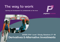 Derivatives and Alternative Investments: Study sessions 17-18 by Jane Vessey image