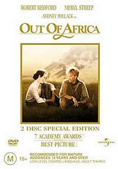 Out Of Africa - Special Edition (2 Disc) on DVD