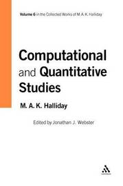 Computational and Quantitative Studies by M.A.K. Halliday image