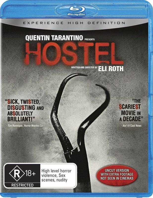 Hostel on Blu-ray