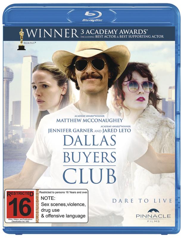 Dallas Buyers Club on Blu-ray