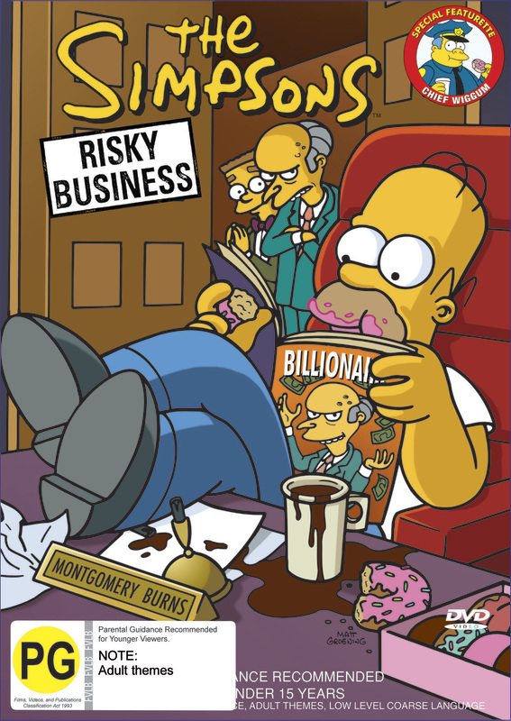 The Simpsons - Risky Business on DVD