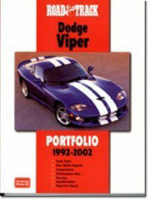 """Road and Track"" Dodge Viper Portfolio 1992-2002 image"