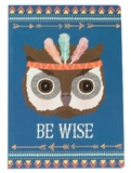 Animal Adventure: Be Wise Owl - A5 Notebook