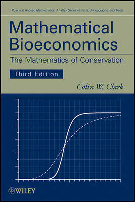 Mathematical Bioeconomics by Colin W. Clark image