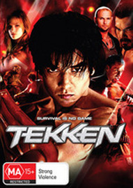 Tekken on DVD