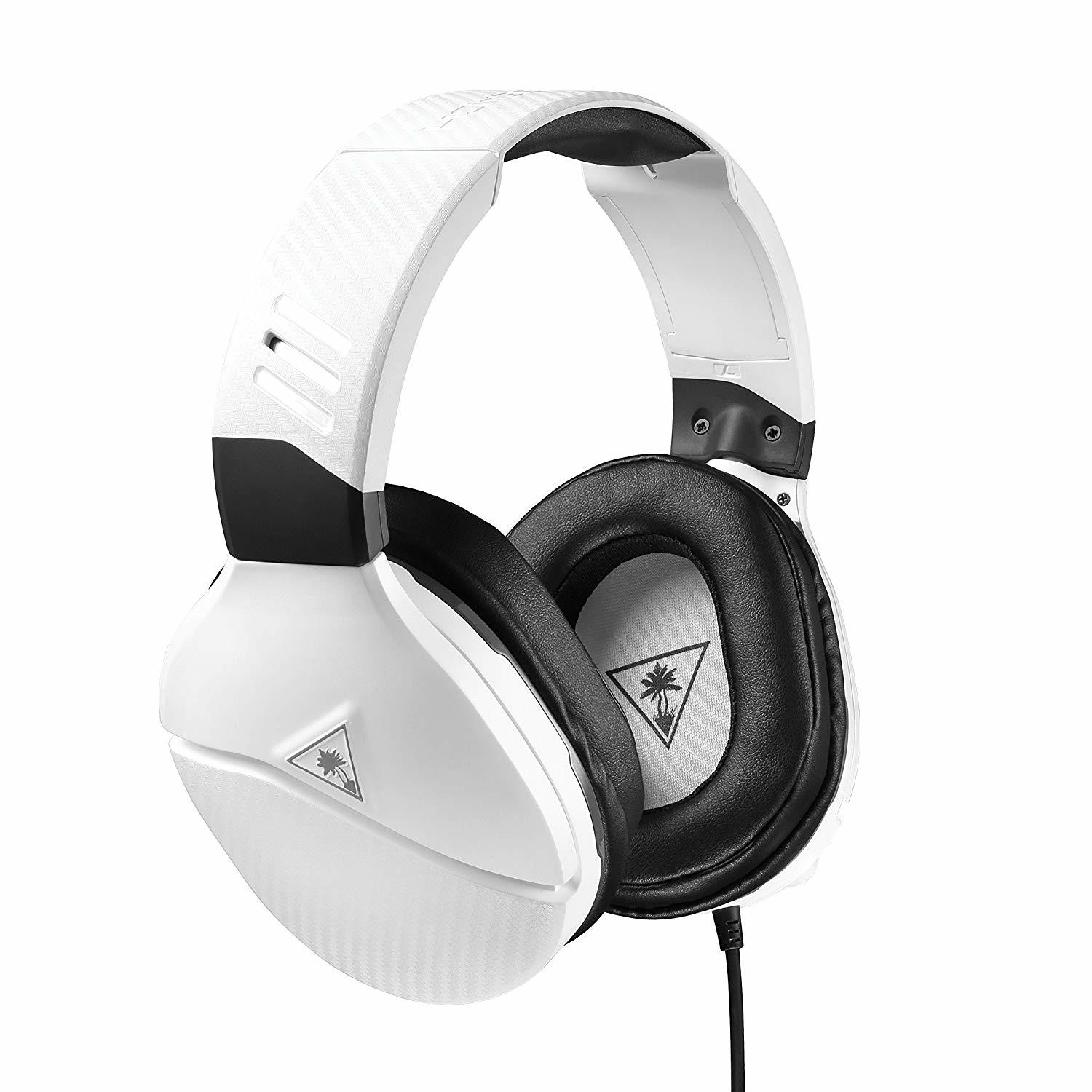 Turtle Beach Recon 200 White Amplified Gaming Headset (PS4 & Xbox One) for  image
