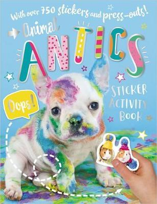 Animal Antics Sticker Activity Book by Make Believe Ideas, Ltd. image