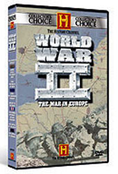 WWII - The War In Europe on DVD