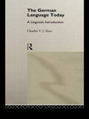 The German Language Today by Charles Russ image