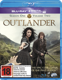 Outlander - Season 1: Volume 2 on Blu-ray image