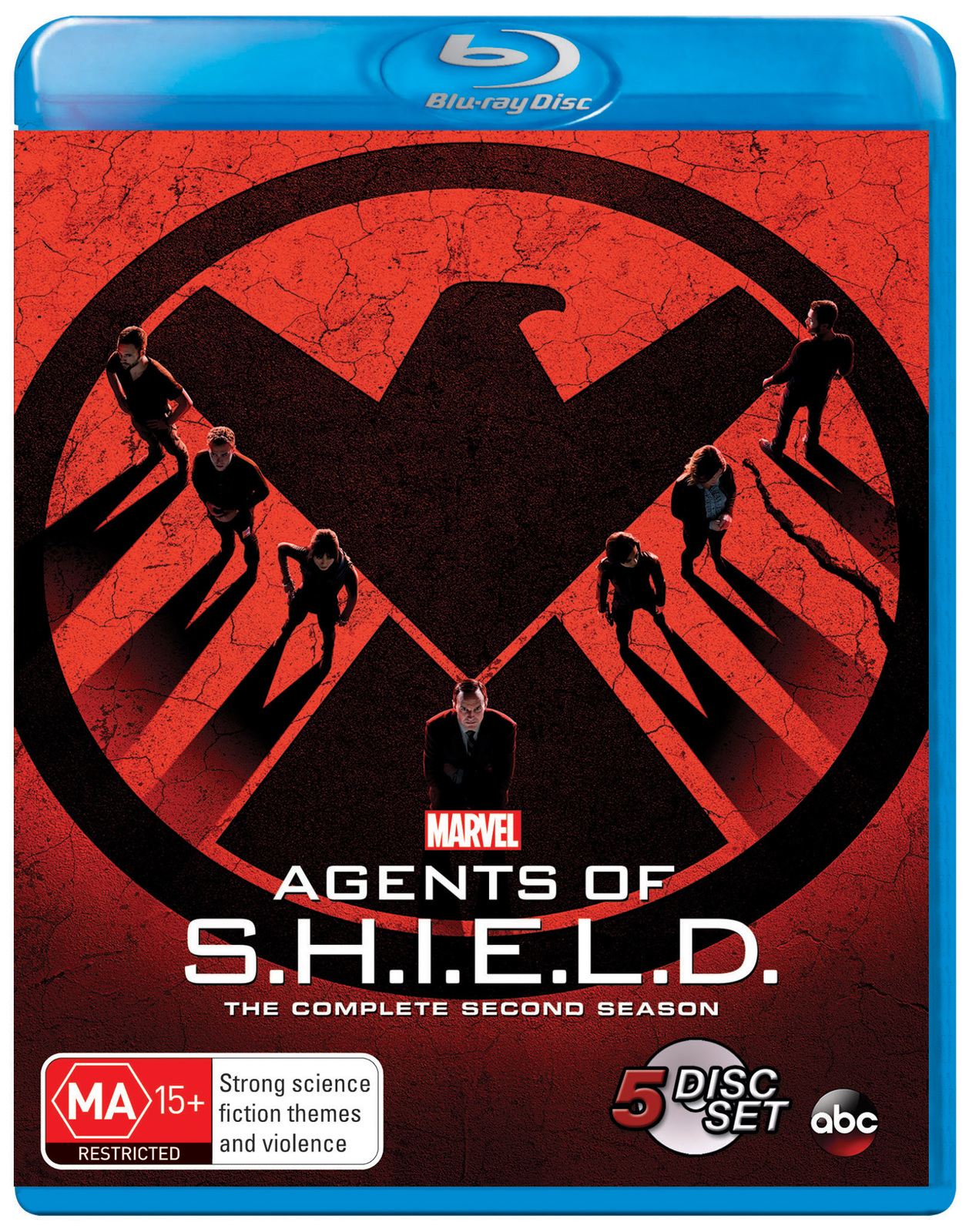 Marvel's Agents of S.H.I.E.L.D - The Complete Second Season on Blu-ray image
