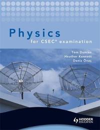 Physics for CSEC examination + CD by Heather Kennett image
