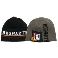 Harry Potter - Hogwarts Reversible Knit Beanie