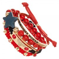DC Comics: Wonder Woman - Arm Party Bracelet Set