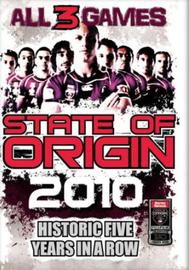 NRL - 2010 State of Origin Series - All 3 Games (3 Disc Set) on DVD