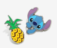 Loungefly: Enamel Pin Set - Stitch Pineapple