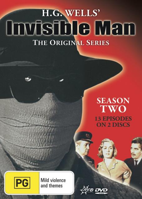 H.G. Wells' Invisible Man (1959) - The Original Series: Season 2 (2 Disc Set) on DVD image