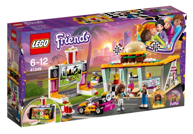 LEGO Friends - Drifting Diner (41349)