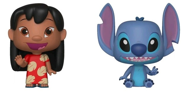 Disney: Lilo + Stitch - Vynl. Figure 2-Pack