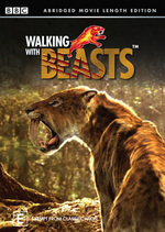 Walking With Beasts - Abridged Movie Length Edition on DVD