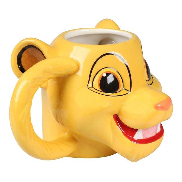 The Lion King Simba Sculpted Ceramic Mug