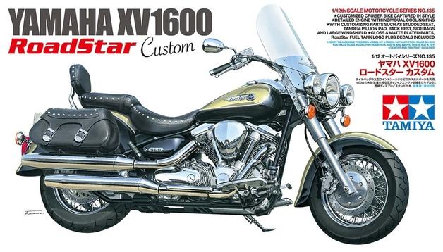 Tamiya: 1/12 Yamaha XV1600 Road Star Custom - Model Kit