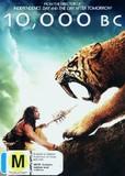 10,000 BC on DVD