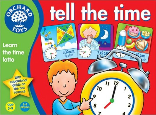 Orchard Toys: Tell The Time image