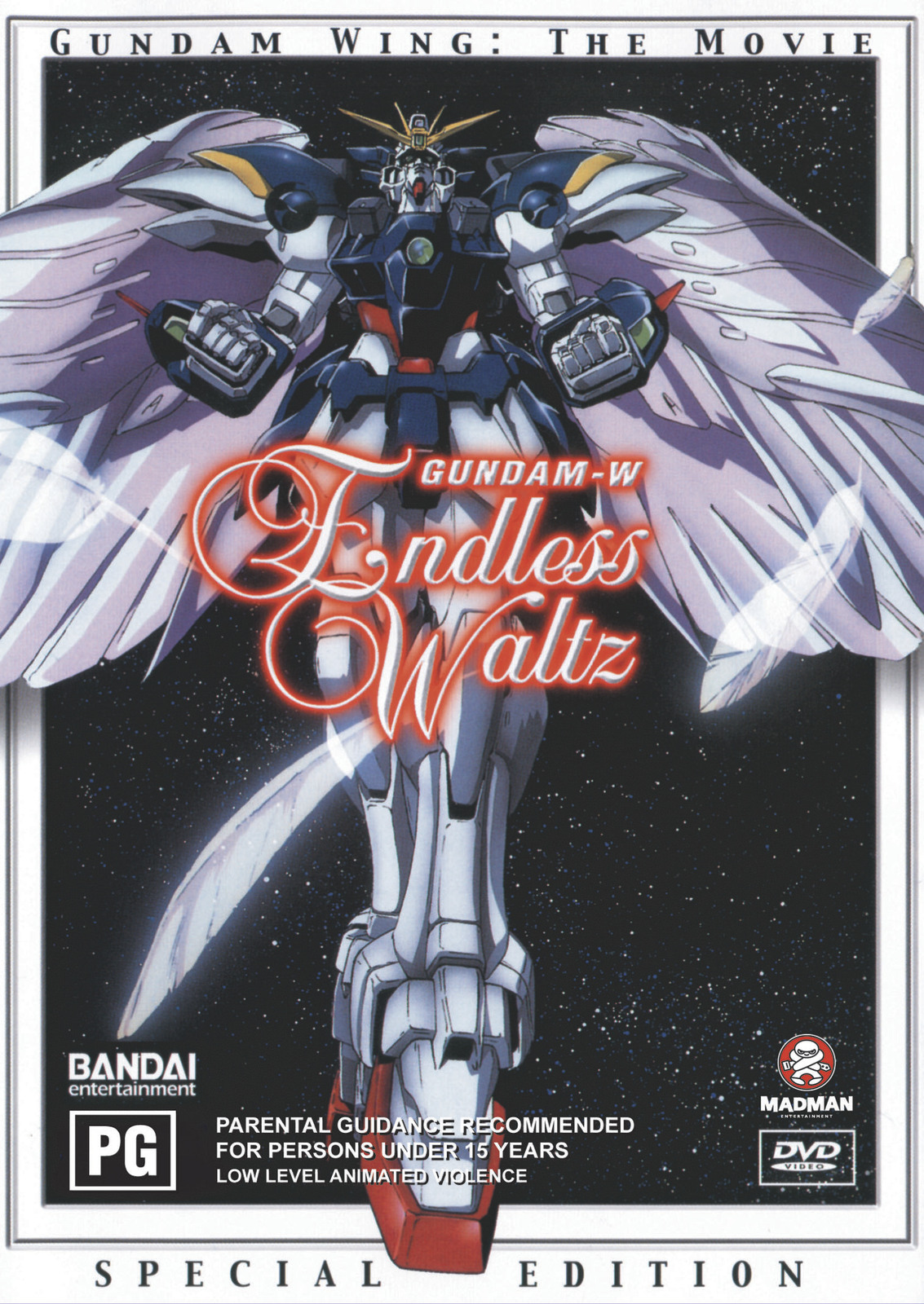 Gundam Wing - Endless Waltz on DVD image