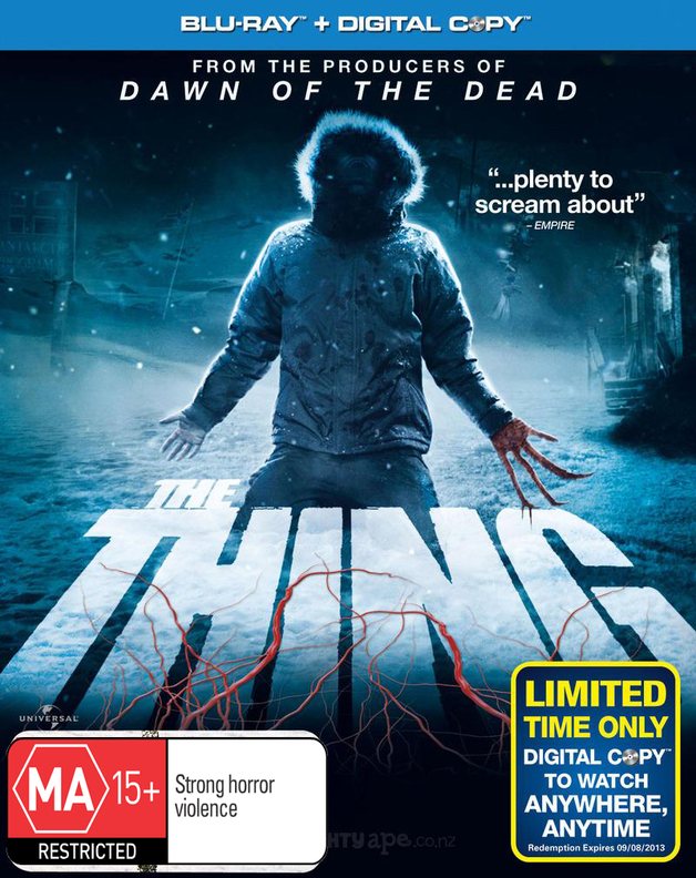 The Thing on Blu-ray