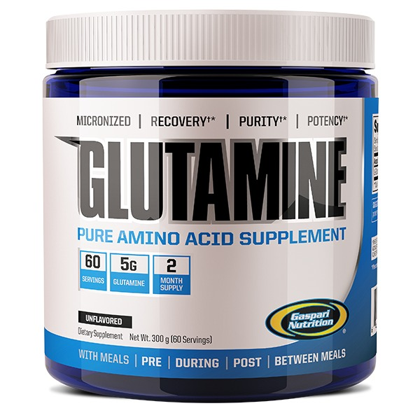 Gaspari Nutrition Glutamine - Unflavoured (300g)