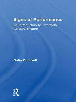 Signs of Performance by Colin Counsell image