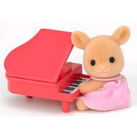 Sylvanian Families: Deer Baby with Piano image