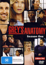 Grey's Anatomy - Season 1 (2 Disc) on DVD image
