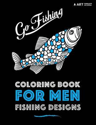 Coloring Book for Men by Art Therapy Coloring