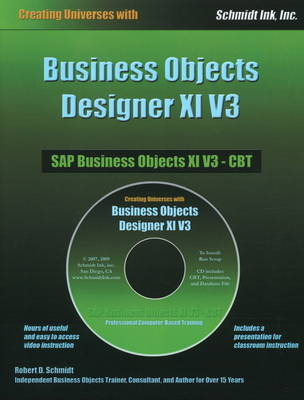 Business Objects Designer XI V3 by Robert D Schmidt image