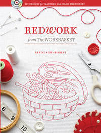 Redwork from The Workbasket by Rebecca Brent