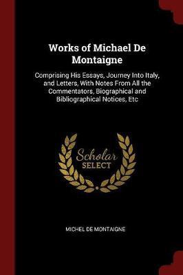 Works of Michael de Montaigne by Michel Montaigne image