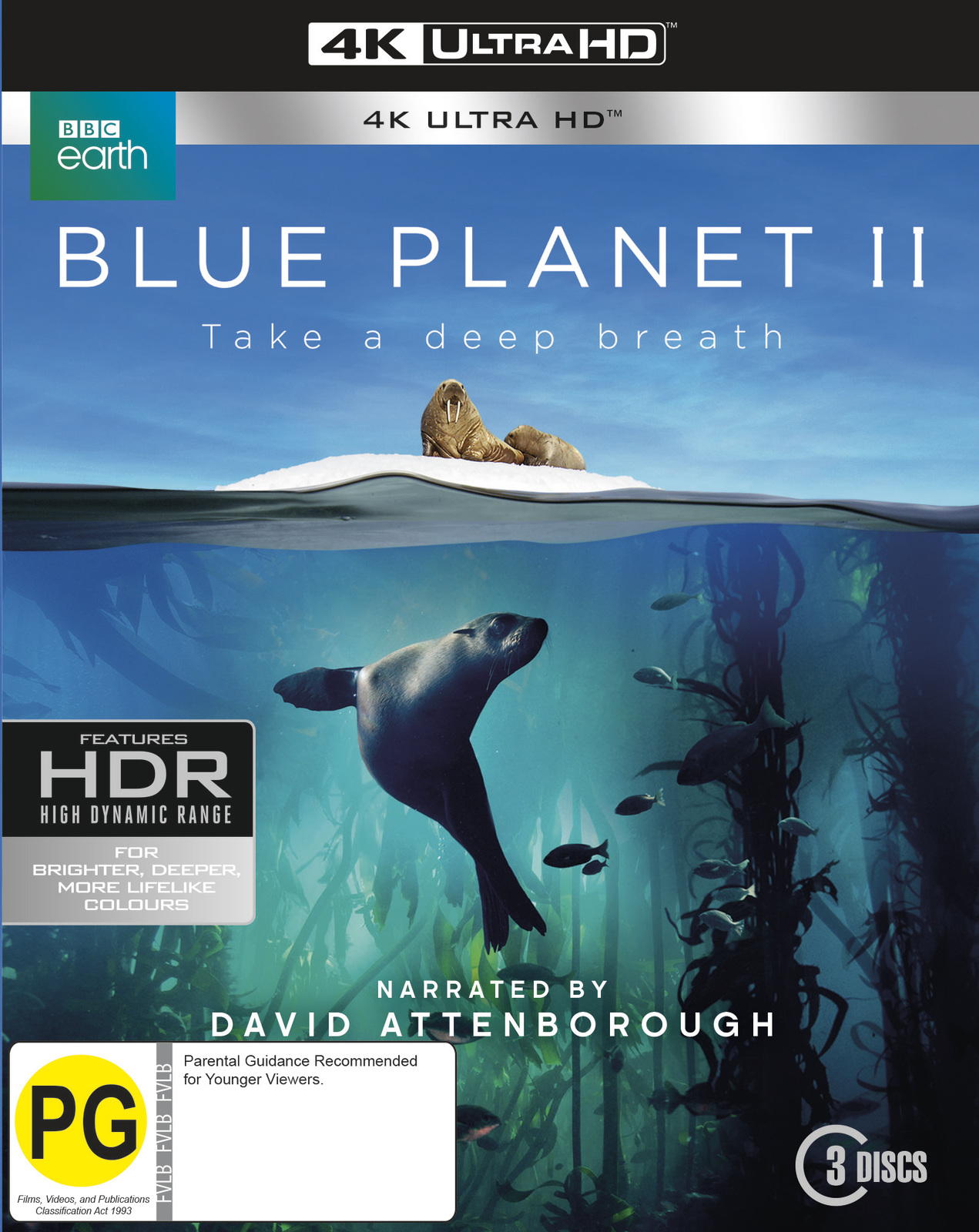 Blue Planet II on UHD Blu-ray image
