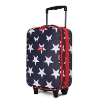 Navy Star Wheelie Bag 2 Wheel