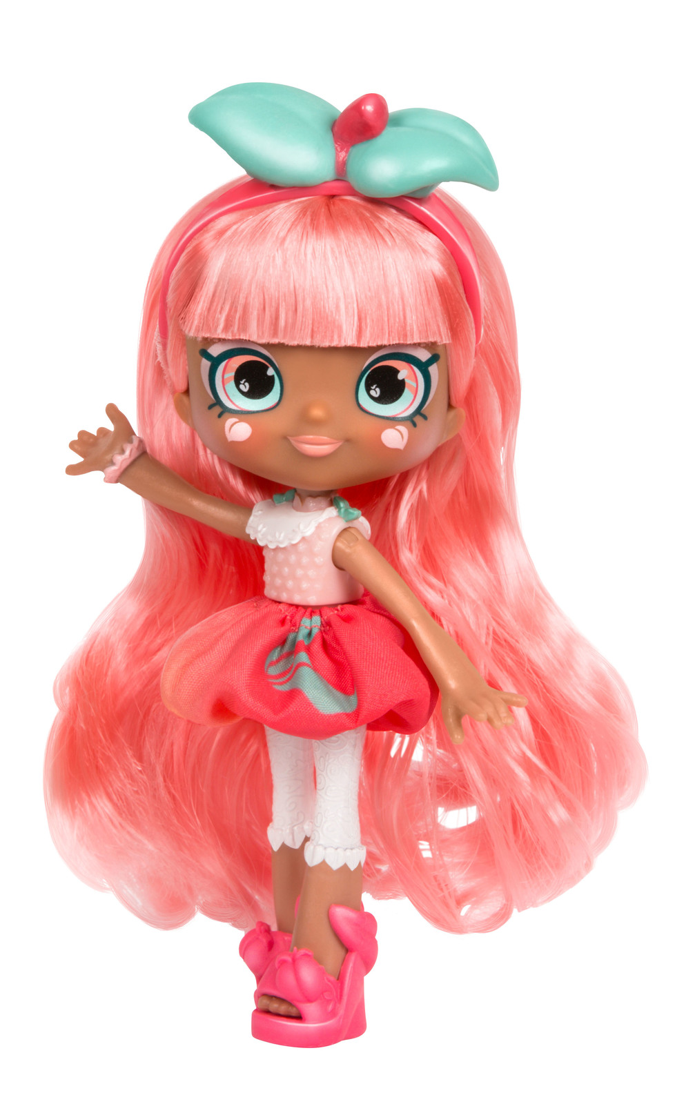 Shopkins: Series 7 - Shoppies Doll (Summer Peaches) image