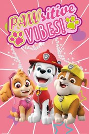 Paw Patrol Pawisitive Vibes Maxi Poster (901)